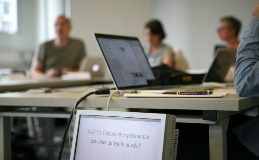 06-2014 – Colloque EnsadLab Diip : Expérimenter le musée