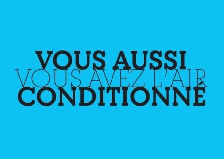 Marseille / Vous aussi vous avez l'air conditionné
