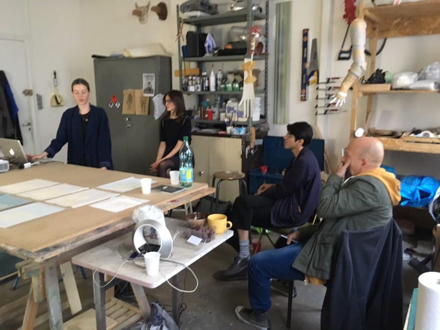 24-09-2018 – Visites d'atelier : Léa Mercier