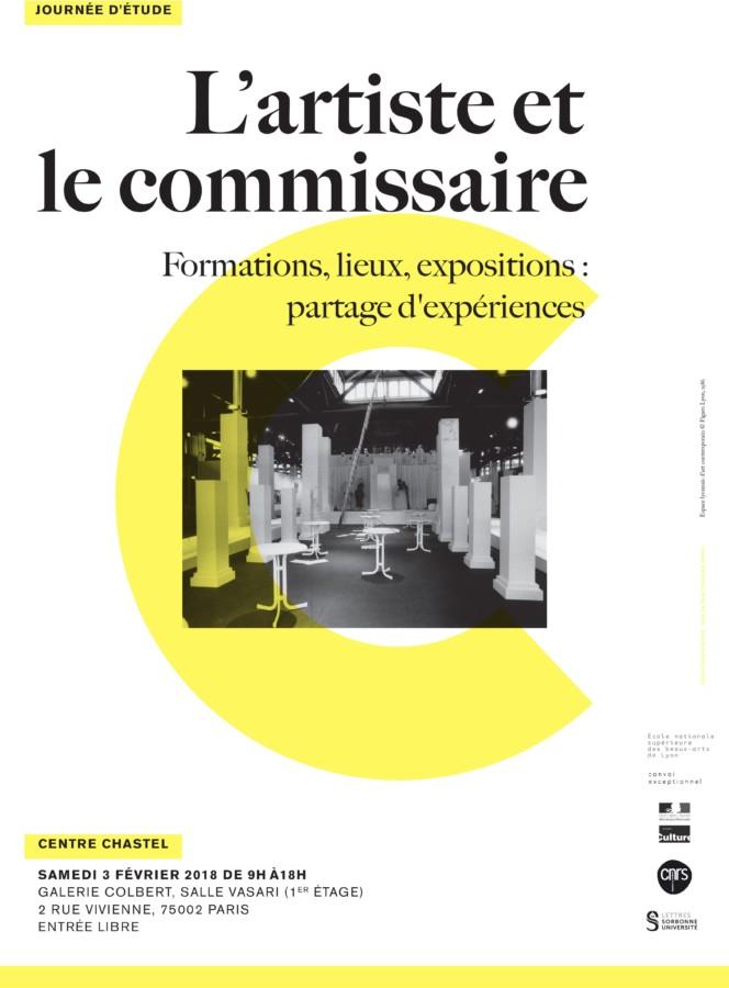 03-02-2018 – Journée d'études : INHA, L'Artiste et le commissaire, intervention de Thierry Fournier